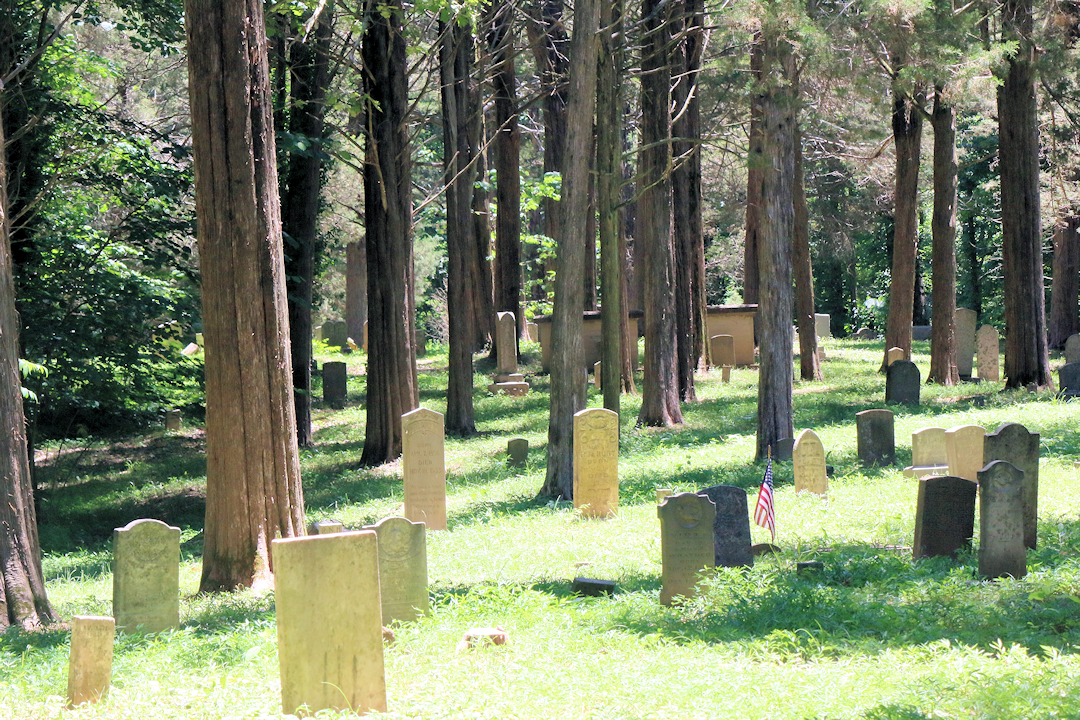 Asbury Cemetery:  Unusual Sights & Ghostly Tales