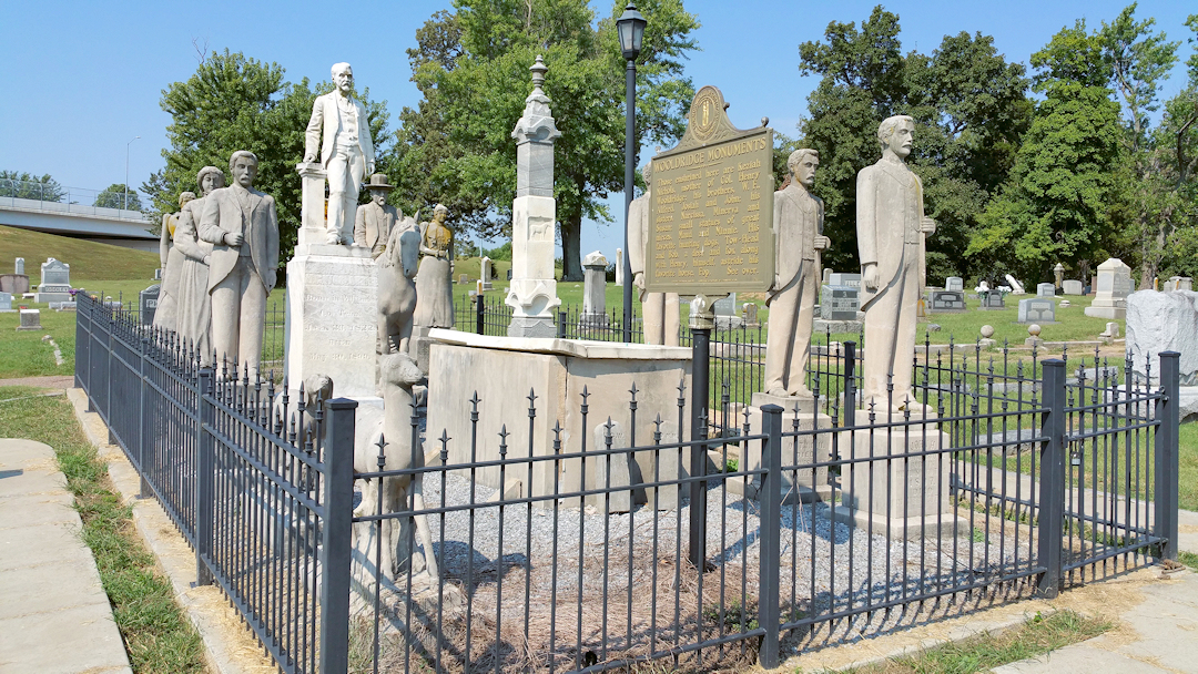 """Wooldridge Monuments – """"The Strange Procession Which Never Moves"""""""