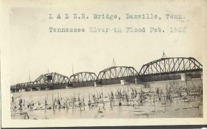 New Photos of Old Danville Tennessee Railroad Bridge