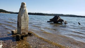 Kentucky Lake's Winter Pool Reveals 'Cemetery Island'