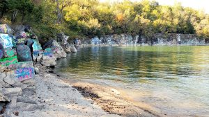Read more about the article Kentucky Lake's 'Party Cove' – The Creation of the Rock Quarry